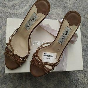 Jimmy Choo Tan Sandals